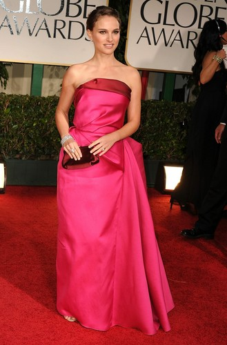 Attending the 69th Annual Golden Globe Awards at the Beverly Hilton Hotel, Beverly Hills, CA