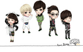 Chibi B1A4 Wallpaper 1440 x 900