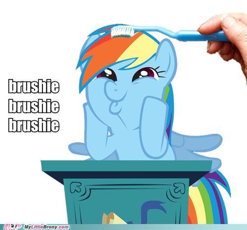 BRUSHIE BRUSHIE!!!!!!!!!