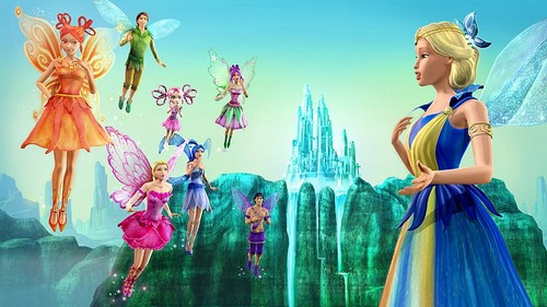 barbie Fairytopia: Magic of the arco iris, arco-íris