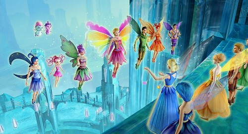 バービー Fairytopia: Magic of the 虹