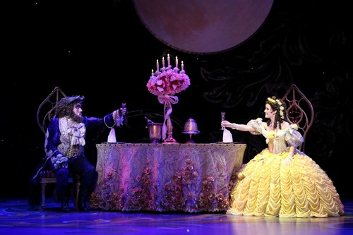 Beauty and Beast on Broadway pic