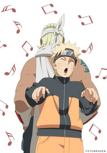 Bee and Naruto