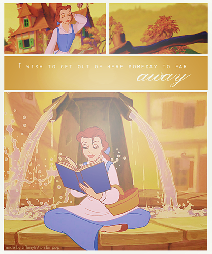 Belle ~ ♥  - beauty-and-the-beast Photo
