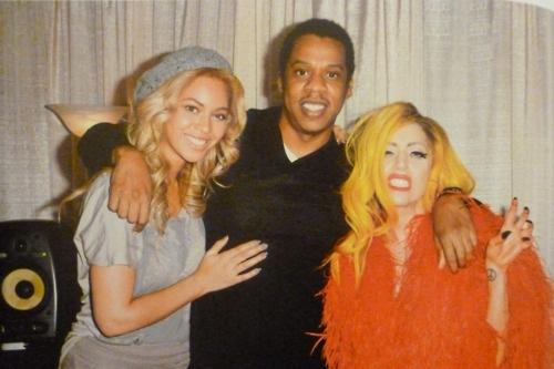 Beyonce, जे-ज़ी and Gaga