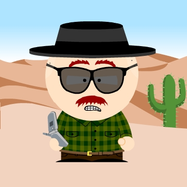 Breaking Bad South Park Characters