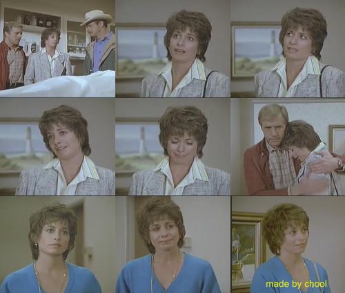 Brianne Leary as Sarah Jean in Simon & Simon