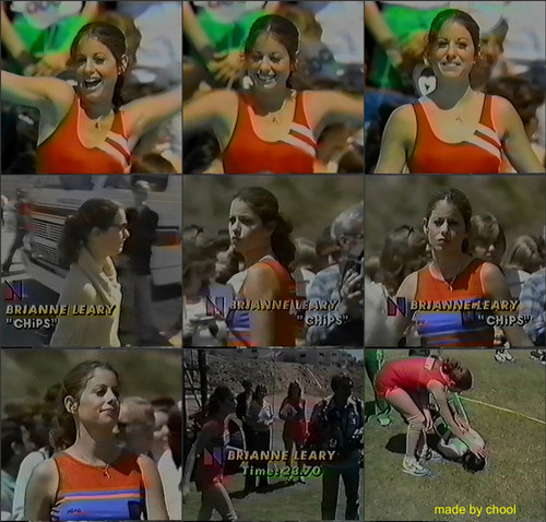 Brianne Leary in Battle of the Network Stars