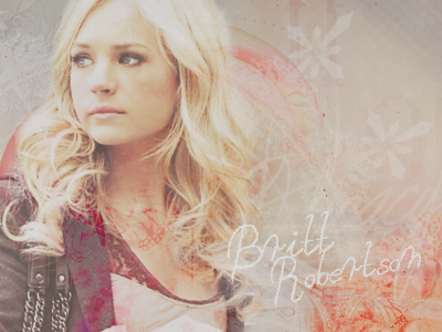 Brittany Robertson fondo de pantalla containing a portrait called Britt<3