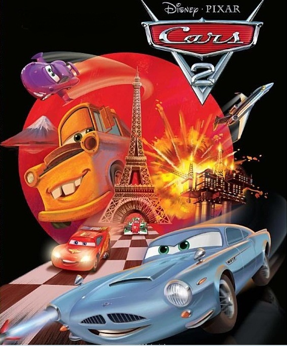 Cars 2 Book Cover