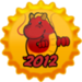Chinese New Year 2012 Cap - fanpop icon