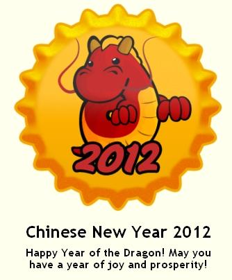 Chinese New taon 2012 takip