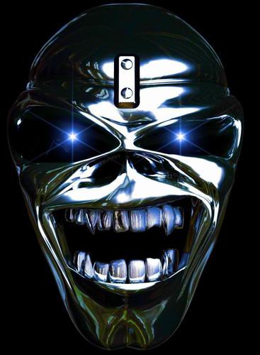 Iron Maiden پیپر وال titled Chromed_Eddie