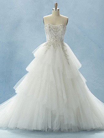 Cinderella special edition wedding dress disney princess for Disney style wedding dresses