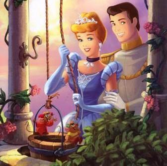 cinderella and prince charming wallpaper titled Cinderella and Charming