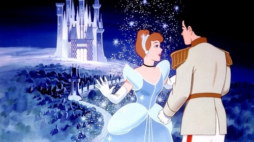 cinderella and prince charming wallpaper called Cinderella and Charming