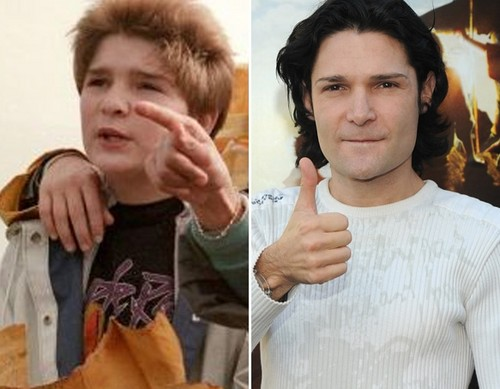 "Corey Feldman as ""Mouth"""