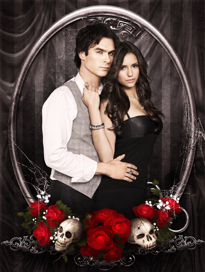 are elena and damon dating in the show