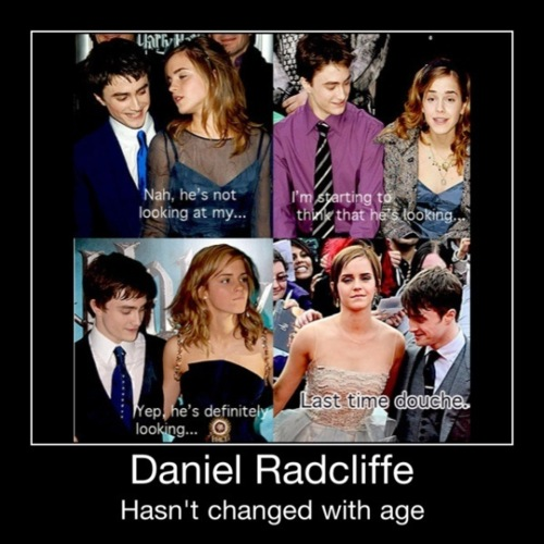 Daniel Radcliffe hasn't changed ...