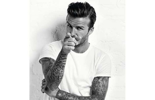 David Beckham Men's Health - March 2012