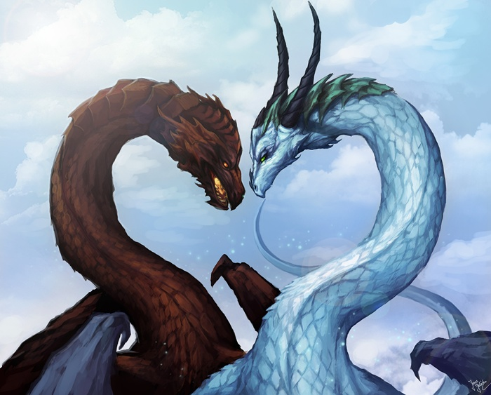 Mythological Dragons: Mythical Creatures Photo (28582879)
