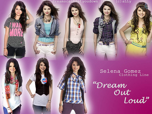 Dream Out Loud Clothing Line
