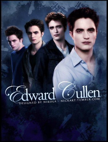 Edward Cullen through twilight saga