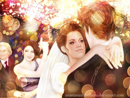 Edward Bella wedding