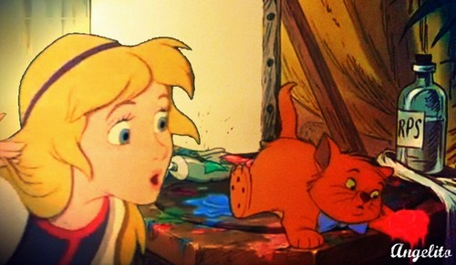 Eilonwy & The Cat.