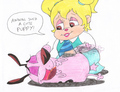 Eleanor and Courage by simanettefan on deviantart.com - the-chipettes photo