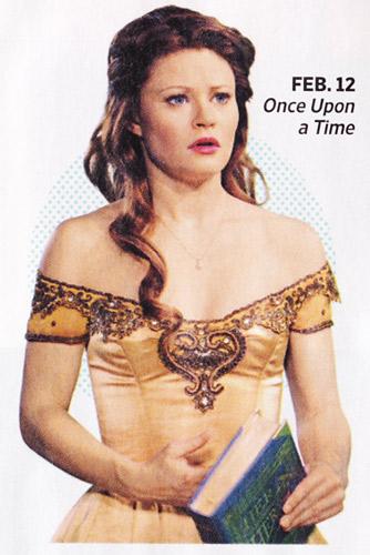 Emilie De Ravin in Once Episode as Belle