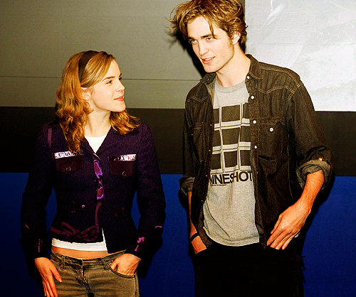 Emma Watson and Robert Pattinson