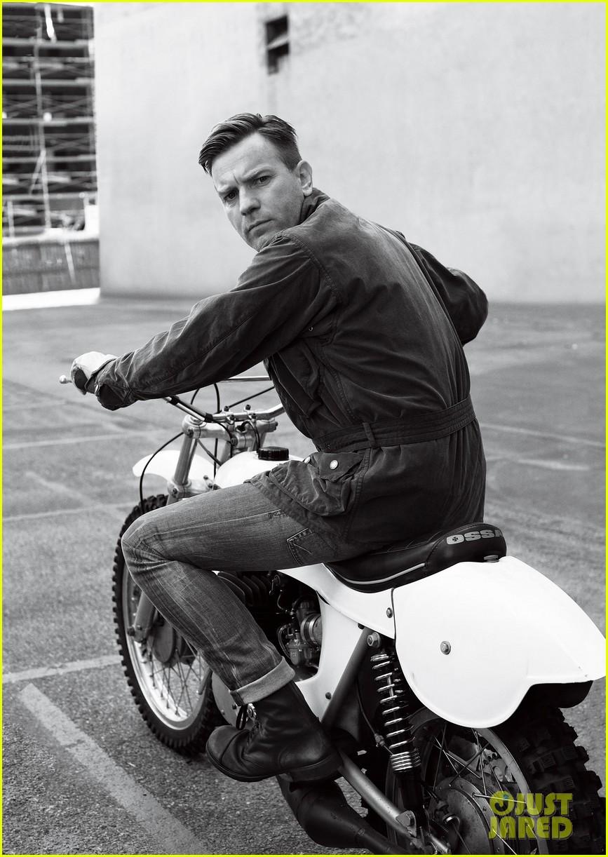 Ewan McGregor Covers 'Menswear' Magazine January 2012