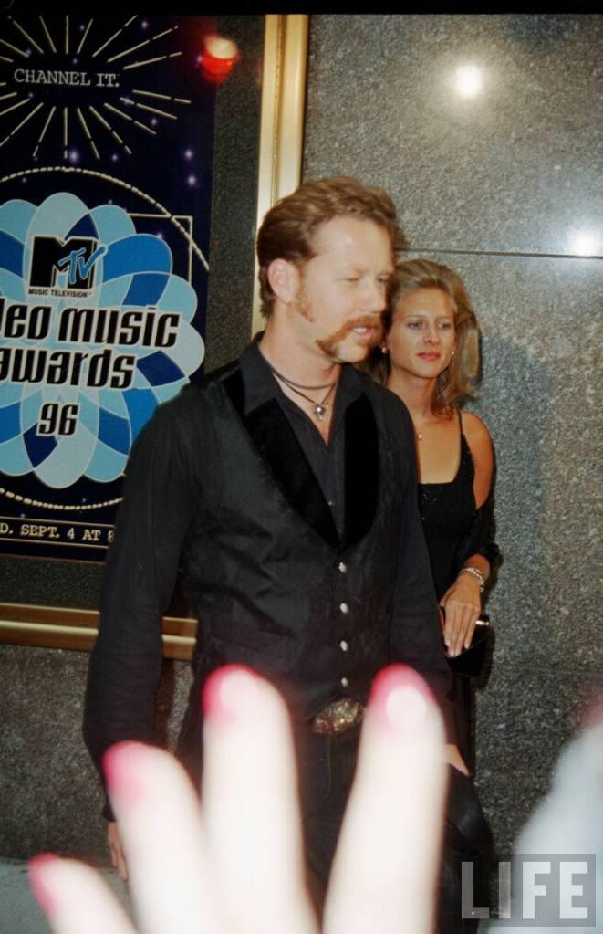 Francesca And James Hetfield
