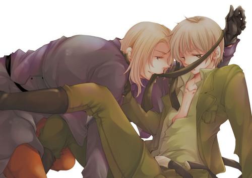 Francis & Arthur <3