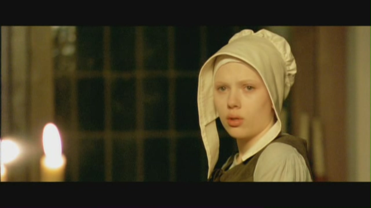 girl with a pearl earring scarlett johansson image