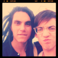 Glee Kevin McHale and Samuel Larsen