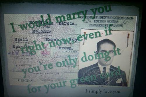 Greencard 爱情