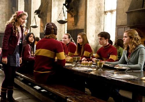 Gryffindor Hintergrund with a brasserie titled Gryffindors