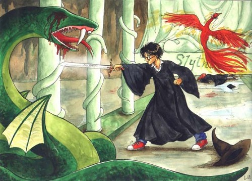 Harry VS the Basilisk