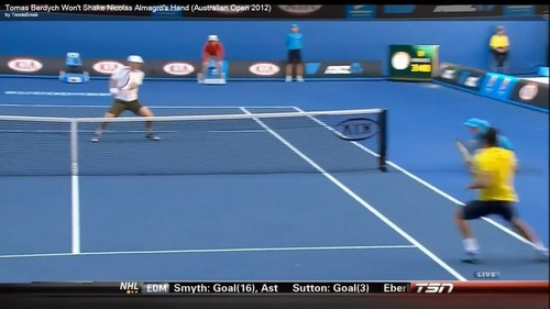 Harsh attack on Berdych !