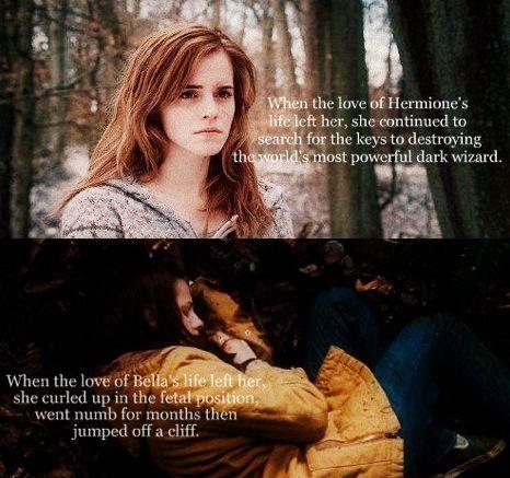 Hermione VS Bella 백조
