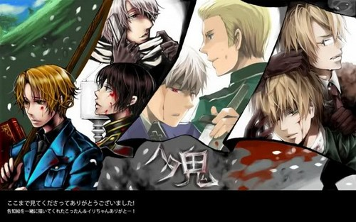 Hetalia wallpaper with anime titled Hetaoni
