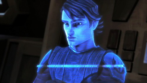 Clone wars Anakin skywalker wallpaper titled Holo Image