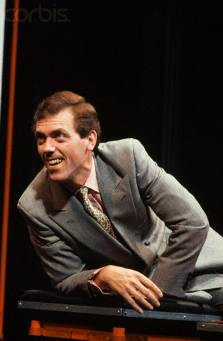 """Hugh Laurie in """"Gasping""""-London, England 1990"""