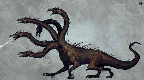 Hydra - mythical-creatures Photo