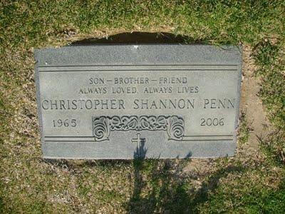 I really miss Chris Penn