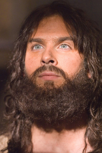 jesus or Ian Somerhalder? Hmm...