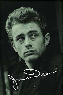 James Dean's autograph