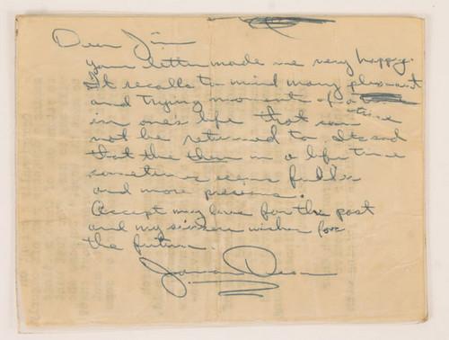 James Dean signtare